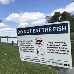 PFAS in Fish, Game, and Homegrown Foods - Huron River