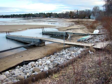 Low lake levels will become a frequent occurence if climate change continues unchecked.
