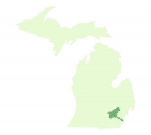 Huron River Watershed is in Southeast Michigan