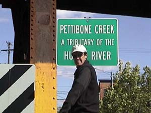 Pettibone Creek Sign