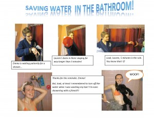 Save Water Comic
