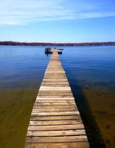 baseline lake dock