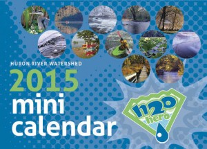 Huron River Watershed 2015 Mini Calendar