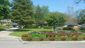 Rendering of Creek Drive bump out garden