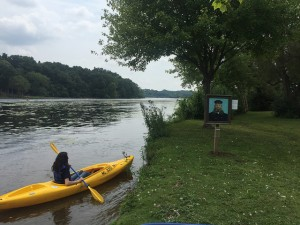 Art along the Huron River!