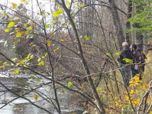 Studying the Pine River