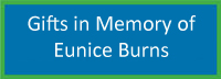 In Memory of Eunice Burns