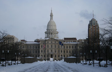 Michigan State Capitol in Lansing, Flickr Creative Commons, by Larry