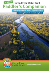 Huron River Water Trail Paddler's Companion Map Flip Book