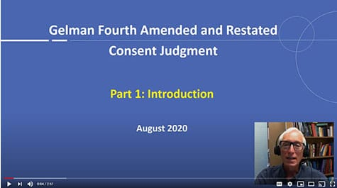 Link to Gelman Fourth Amendment Consent Judgment Videos