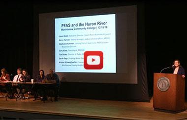 Washtenaw County PFAS Meeting Video Recording