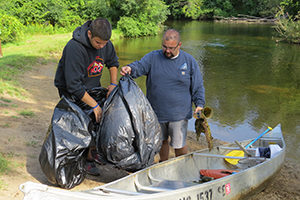 River Cleanup: Milford @ Heavner's Canoe Livery