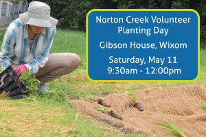 Norton Creek Wixom Planting Day @ Gibson House