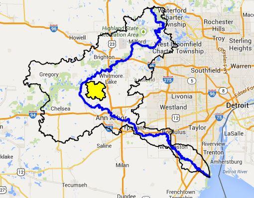 Arms Creek - Huron River Watershed Council