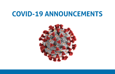 Coronavirus COVID-19 announcements